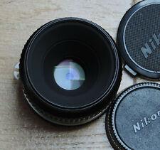55 mm 1:2.8 Micro-Nikkor, monture Nikon AI