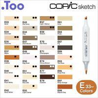 """Copic Sketch Marker Pen """"E33-99 Color Series"""""""