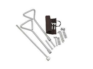 Universal Manhole cover lifting key kit (99.877)
