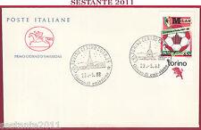 ITALIA FDC IL CAVALLINO MILAN CAMPIONE D'ITALIA 1987  - '88 1988 TORINO Z570