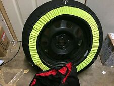 """Car winter snow socks Large Size 14"""" 15"""" 16 """" 17"""" Wheels Tyres Bmw Ford Audi"""