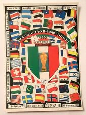 Cartolina Campionato Del Mondo 1990 - C'Ero Anch'Io Stemma FIFA World Cup