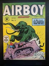 AIRBOY #4 1951 RARE BRITISH EDITION! AMAZING SHAPE, CLASSIC COVER