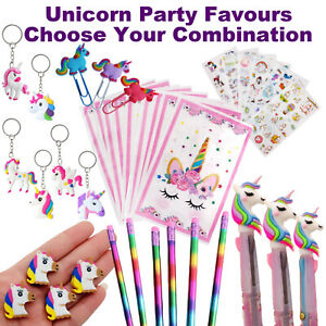 Unicorn Party Favours | Bulk Party Supplies | Loot Bags Pens Rainbow Pencils