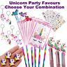 Unicorn Party Favours | Bulk Party Supplies | Loot Bags Pens Rainbow Pencils