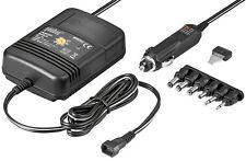 Universal KFZ Netzteil Stabilisiert 1,5V 3V 4,5V 6V 7,5V 9V 12V 2000mA 6 Adapter