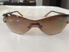 Authentic LOUIS VUITTON Sunglasses Eye Wear Brown France  Mod.LV7202 166-125