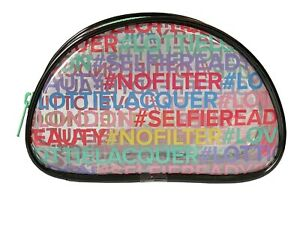 Lottie Travel Wash Make-Up Cosmetic Nail Polishes Bag Pouch Clear Women