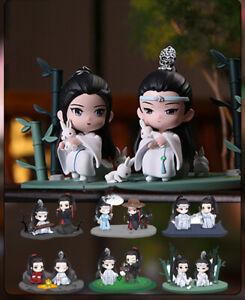 The Untamed Figurine 1 Pcs Random Lan Wangji Wei Wuxian Original Genuine Stock