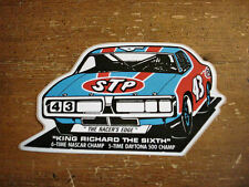 "Vintage STP Sticker Featuring Richard Petty ""King Richard the Sixth"""