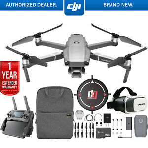 DJI Mavic 2 Pro Drone w/ Hasselblad Camera Mobile Go Extended Warranty Bundle..