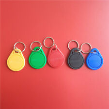125KHZ TK4100 EM4100 RFID Tag ID Key Card Keyfobs Token Tag Keychain - 100PCS