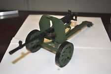 Russian machine gun MILITARY CANNON  METAL TOY RARE soldier howitzer artillery