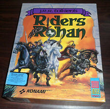 PC Game. JRR Tolkien's Riders of Rohan. 5.25 floppy