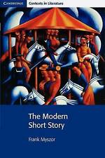 The Modern Short Story (Cambridge Contexts in Literature)-ExLibrary