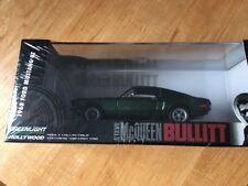 Greenlight Steve McQueen Bullitt 1968 Ford Mustang Sealed 1:43 Limited Edition