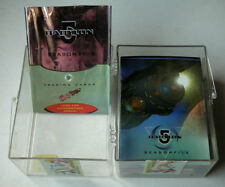 Babylon 5 - Season 5 - 1998 Trading Card Set 81 + 54 Chase Cards