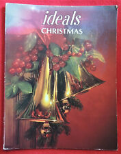 IDEALS Christmas c1988 (Vol. 45, No. 8) Stories Poems Recipes Stocking Pattern