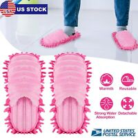 Lazy Cleaning Mop Slippers Quick Polishing Dust Shoes Floor Foot Socks Cleaner
