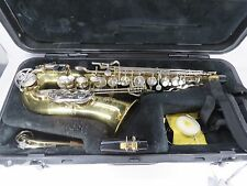 Selmer Bundy II Alto Saxophone With Hard Case Mouthpieces Serial #1258808 JH
