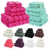 8Pc Bale Towel Set 100% Egyptian Cotton Hand Bath Face Towels Bath Sheet