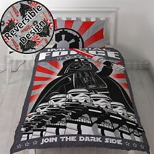LEGO STAR WARS IMPERIAL SINGLE DUVET COVER SET DARTH VADER STORMTROOPERS