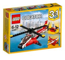 31057 LEGO Creator Air Blazer Helicopter 102 Pieces DAMAGED BOX