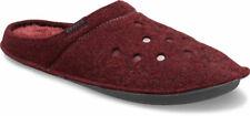crocs Slipper Classic Slipper Burgundy / Burgundy Textil Normal Unisex