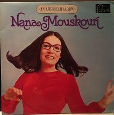 Nana Mouskouri An American Album Lp Vinyl Album Vgc