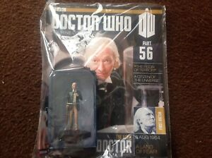 Eaglemoss Doctor Who Figurine Collection Part # 56 The First Doctor (New sealed)