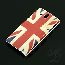 Sony xperia u/st25i Hard Case Housse/étui de protection Motif Cover uk Angleterre vintage