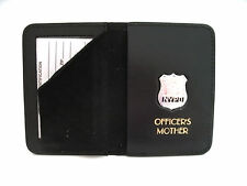 NYPD Officer's Style Mother's Custom Foil Badge Wallet W/ Mini Badge Wallet