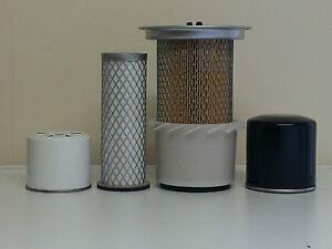 JCB 801.4, 801.5, 801.6 w/Perkins103-10 Eng. Filter Service Kit