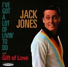 I've Got a Lot of Livin to Do/Gift of Love by Jack Jones (CD, Jan-2013, Sepia Records)