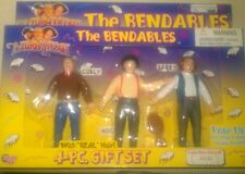 The Three Stooges The Bendables Vintage Action Figures