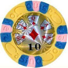 5 pc 9 gram Casino Joker Royal 1 poker chips set #174