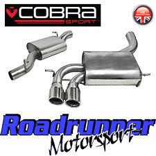 """Cobra AUDI S3 8P 2.0 Gato Sistema de escape trasera 3"""" AU08 3 Puertas Acero Inoxidable encargados"""