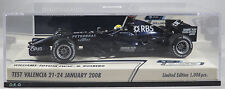 WILLIAMS TOYOTA FW30 #7Nico ROSBERG jan 2008 VALENCIA F1 TESTING MINICHAMPS 1:43