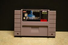 Rise of the Robots (Super Nintendo Entertainment System, 1994) TESTED AND WORKS