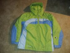 Columbia Tectonite Ski Snow Insulated Hooded Quilted Jacket Coat Youth 18/20