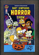 1 Bart Simpsons Horror Show 13 RRP Exclusive Signed Variant Treehouse Of