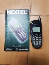MOTOROLA NEXTEL I500plus Cell Phone with book