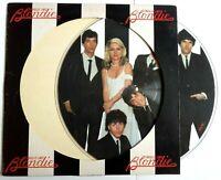 EX/EX BLONDIE PARALLEL LINES VINYL LP PICTURE PIC DISC US 1978 ORIGINAL