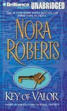 Key Trilogy, Vol.3, Key of Valor  - by Nora Roberts - (2003 Cassette)