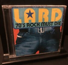 LARD 70's Rock Must Die NEW CD Cracked Case Ministry Dead Kennedys Supergroup