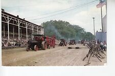 Cavalcade of Engines Passing in front of Amphitheater at Mount Pleasant Iowa