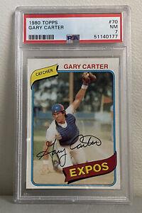 1980 Topps Gary Carter #70 PSA 7 (HOF)