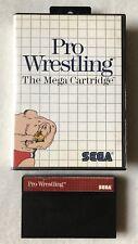 Pro Wrestling (Sega Master, 1986) *Cleaned & Tested*