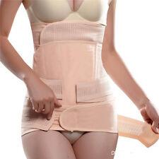 3 piezas de recuperación Postparto Cintura Vientre estómago cinturón pélvico Bodyformer adelgazar