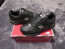 NIB New Balance 993 MR993LBK Men's Wide Leather Running Sneakers 13 2E
